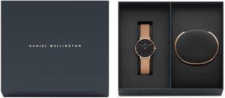 Daniel Wellington DW00500001 Women's Gift Pack Rose Watch and Cuff