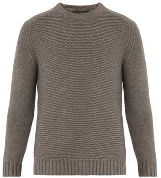 Iris von Arnim Jacob crew-neck cashmere garter-knit sweater