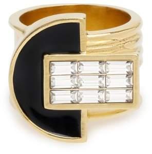 Cercle Amédée Art Deco Night Owl Ring