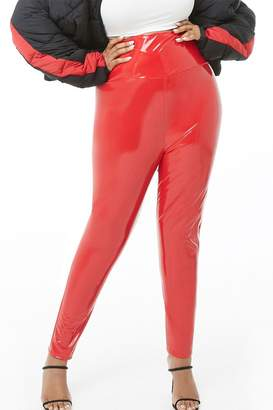 57bb9920562 Plus Size Red Leggings - ShopStyle Canada