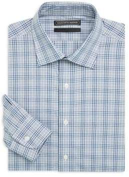 Saks Fifth Avenue BLACK Cotton Check Shirt