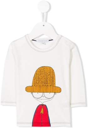 Little Marc Jacobs long-sleeve printed T-shirt