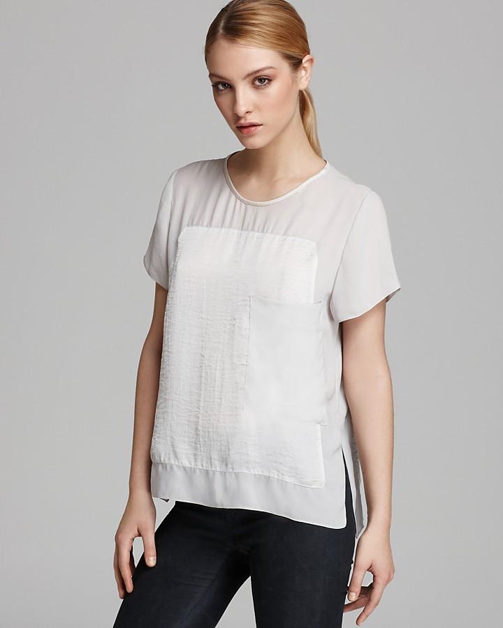 Helmut Lang Top - Soft Shroud Oversized