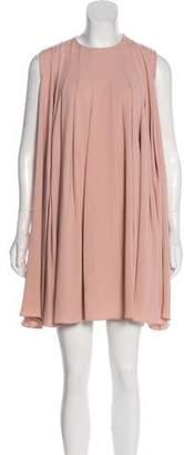 Co Pleated Mini Dress