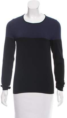 Cédric Charlier Colorblock Long Sleeve Top w/ Tags