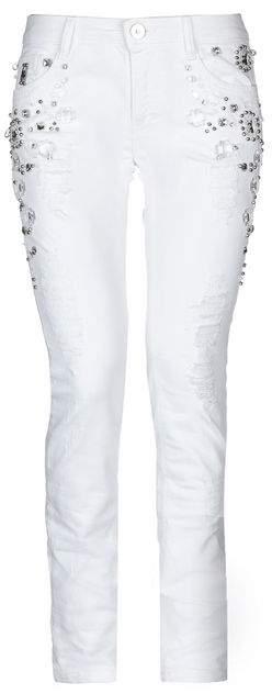 KI6? WHO ARE YOU? Denim trousers