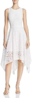 nanette Nanette Lepore Handkerchief-Hem Lace Dress $159 thestylecure.com