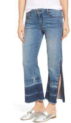 Ocean Current PARKER SMITH Off-Beat Crop Flare Jeans