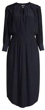 Joie Rheia Pleated Midi Dress