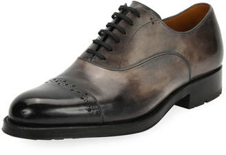Bally Men's Luthar Injected-Sole Oxford