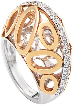 Heritage Oro Trend 18K Two-Tone 0.40 Ct. Tw. Diamond Ring
