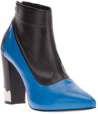 Toga paneled ankle boot