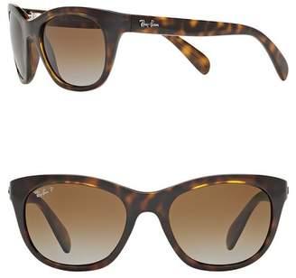 Ray-Ban Highstreet 56mm Cat Eye Sunglasses