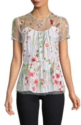 Fiona Embroidered Blouse