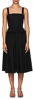 Barneys New York Women's Cotton Poplin Bustier Dress - Black