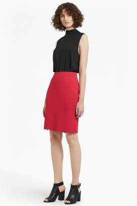 French Connenction Lela Crepe Knit Pencil Skirt