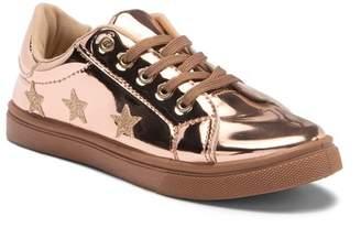 OLIVIA MILLER High Shine Sneaker (Little Kid & Big Kid)
