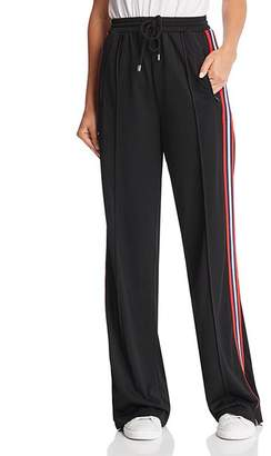 Rebecca Minkoff Betsy Oversized Racing-Stripe Drawstring Pants