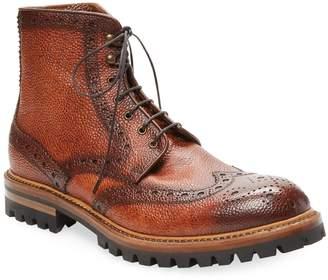 Antonio Maurizi Men's Brogue Leather Boot