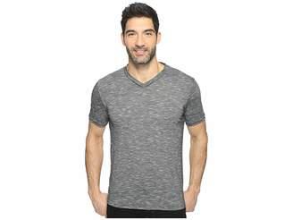 Perry Ellis Texture Slub V-Neck Tee Shirt