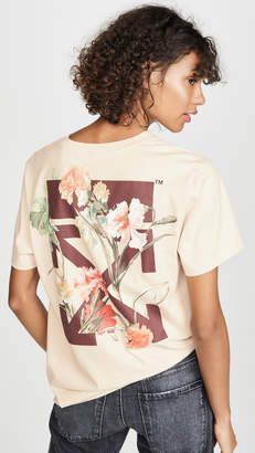 Off-White Off White Flowers Tee