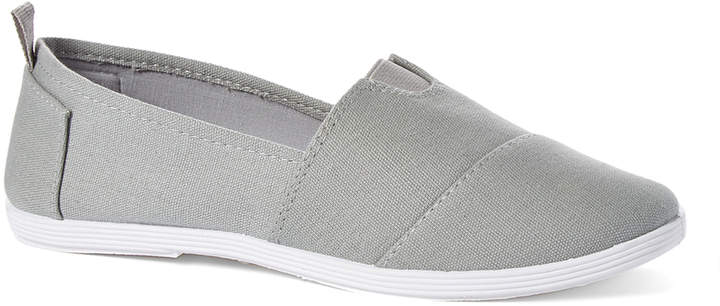 Gray Minimalist Slip-On Shoe - Women