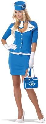California Costumes Women's Retro Stewardess Adult