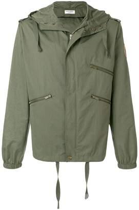 Saint Laurent zipped parka jacket