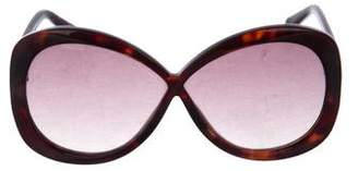 Tom Ford Margot Oversize Sunglasses