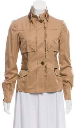 Gucci Velvet Detail Casual Jacket