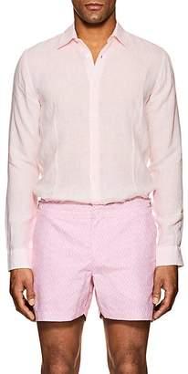 Orlebar Brown Men's Morton Linen Shirt