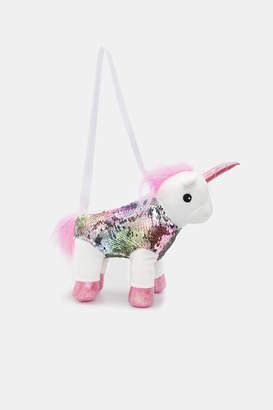 Ardene Plush Unicorn Bag