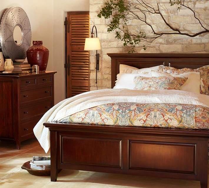 Bed & Extra-Wide Dresser