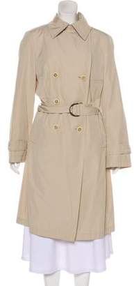 Akris Double-Breasted Trench Coat