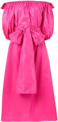 Stella McCartney off-the-shoulder belted dress