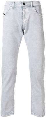 Diesel Black Gold slim fit faded jeans