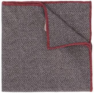 Eleventy pattern wide scarf