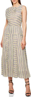 Reiss Raya Multi Stripe Dress