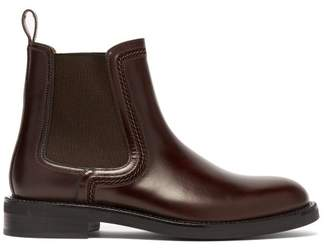 Lanvin Leather Chelsea Boots - Mens - Brown