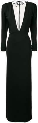 DSQUARED2 deep V-neck dress