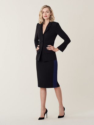Diane von Furstenberg Esteem Crepe Pencil Skirt