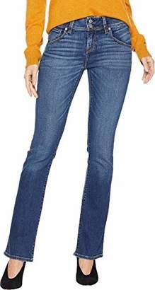 Hudson Jeans Women's Beth Midrise Petite Baby Boot Flap Pocket Jean