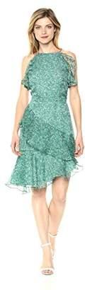 Keepsake The Label Women's Genesis Ruffle Asymmetric Mini Dress