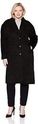 Jones New York Women's Plus Size Coat