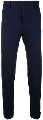 Fay skinny fit trousers