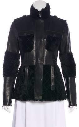 Chanel Fantasy Fur & Lambskin Jacket