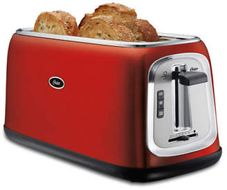 Oster 4-Slice Long-Slot Toaster Red Metallic
