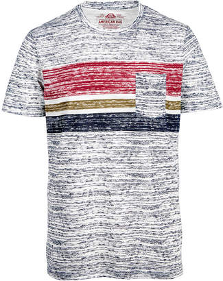 American Rag Men's Tri Color Striped T-Shirt, Created for Macy's