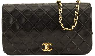 Chanel Black Quilted Lambskin Chain Clutch (4078006)