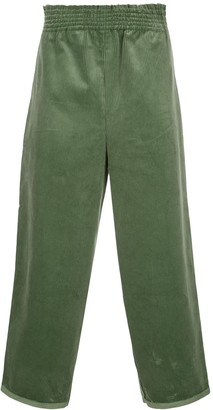 Camiel Fortgens cropped wide-leg trousers